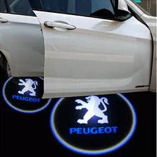 LED Laser Logo Light LED Door Warning Light With VW Logo Projector For car logo car light Car styling(China (Mainland))