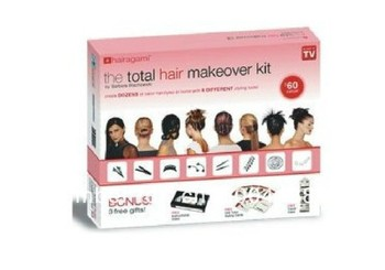 free shipping ,Beauty Hairagami Hairstyle with Total Hair Makeover Kit