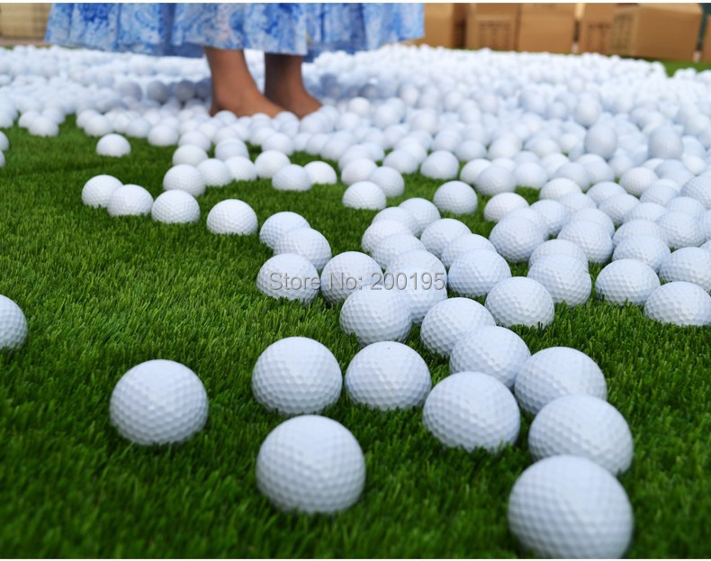 1pcs New environmental Practicing golf ball game ball(China (Mainland))