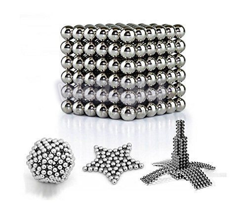 216 x 3mm Buckyballs Magic Magnet Magnetic DIY Balls Sphere Neodymium Cube Neocube Puzzle Toy Kids Brain Teaser Educational Toy(China (Mainland))