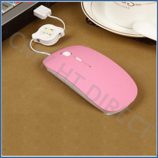 2014 women mouse creative computer mice cute pink mause ergonomic mouse free shipping(China (Mainland))