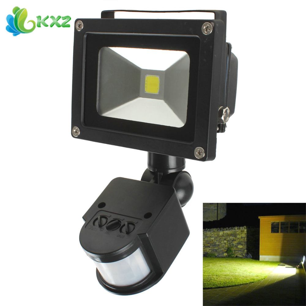 Exterior Floodlights With Motion Sensor I installed the light and