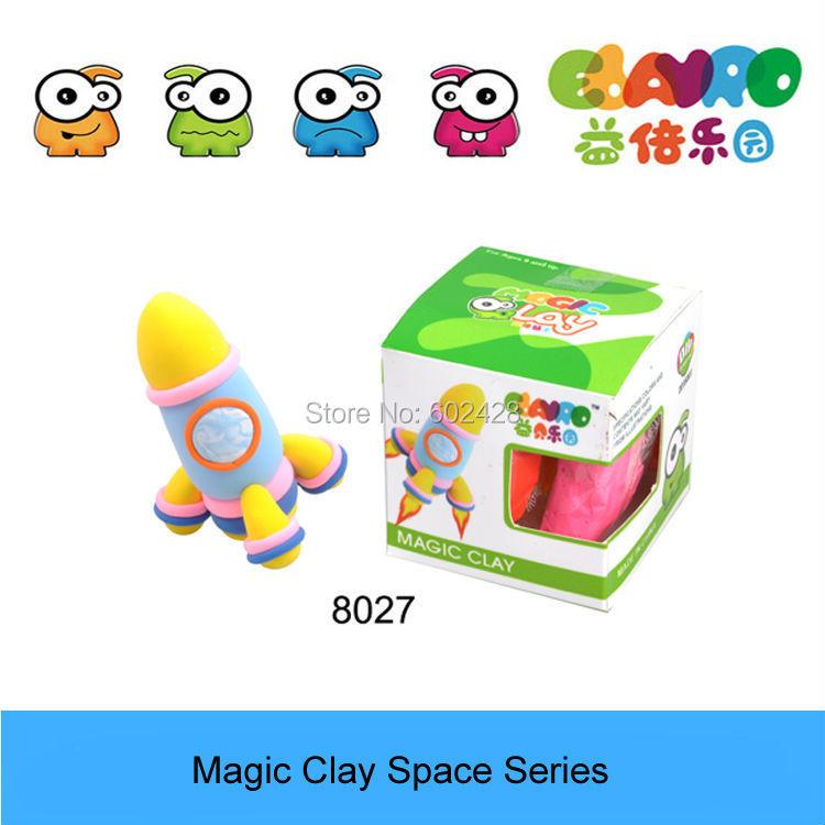 Free Shipping Super Light Clay Non-Toxic Playdough 3D Toys(China (Mainland))