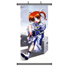45 X 95 e6795 Magical Girl Lyrical Nanoha Fate Yuno Arf cartoon anime wall scroll picture mural poster art cloth canvas painting