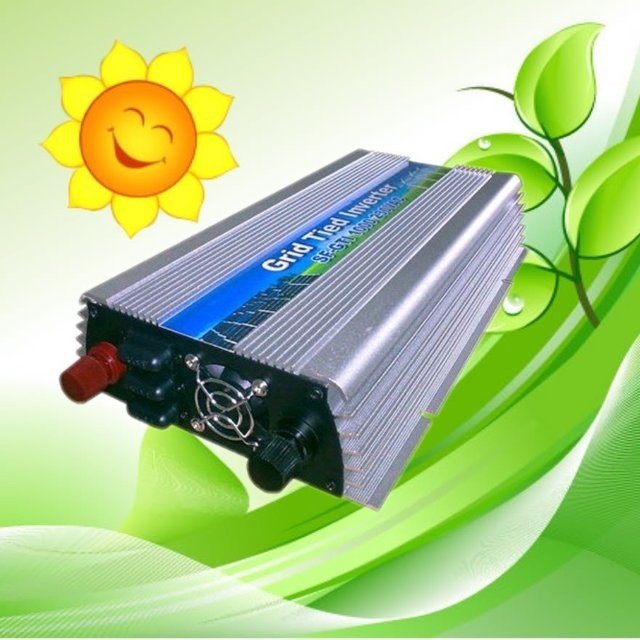 1000w grid tie power inverter with solar panel,90V-140/180~260VAC CE certificate !grid tie inverter