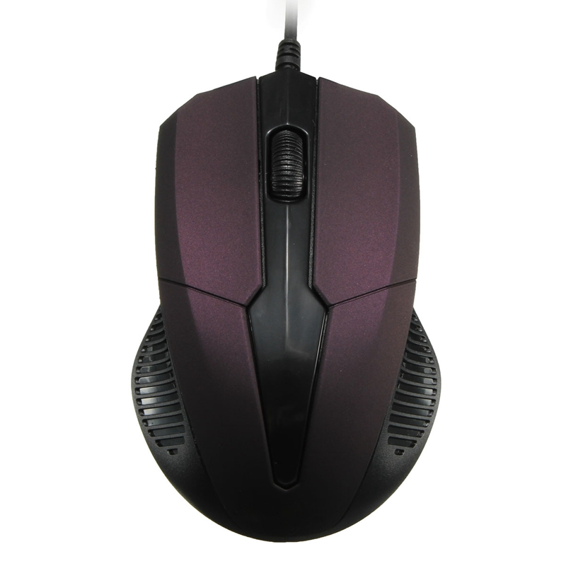 Portable 1PC Antislip USB 1.1/2.0 3D Wired Optical Mouse Scroll Wheel 4Buttons 1000DPI Gaming Mouse For PC Computer Desktop(China (Mainland))