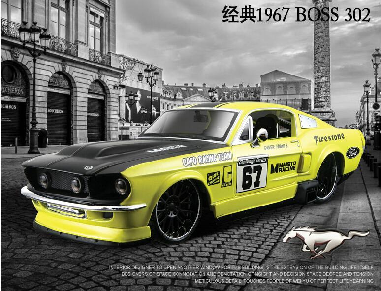 Maistomaisto 1:24 simulation alloy car model 1967 Mustang model collection gift(China (Mainland))