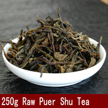 Raw Puer loose tea leaves old sheng tea Laoshucha Sheng pu er tea 250g free shipping