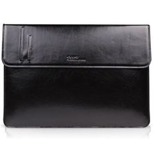 """D-park Genuine Cow Leather Cover Sleeve Laptop Bag For Apple Macbook Air 13"""" 13.3&Retina Pro 13"""" 13.3""""+Back Sticker Skin as gift(China (Mainland))"""