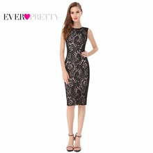 Lace Cocktail Dresses Ever Pretty Charming Stylish Knee Length Summer 2016 Party A-line Sleeveless HE05336 Cocktail Dress(China (Mainland))