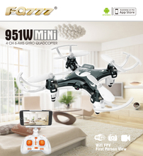 F17860/61 FQ777 951W WIFI Mini Pocket Drone FPV 4CH 6-axis gyro Quadcopter with 30W Camera Smartphone Holder Transmitter
