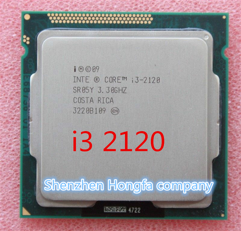 For Intel Core I3 2120 3M Cache 3.3 GHz LGA 1155 TDP 65W desktop CPU scattered piece processor (working 100% Free Shipping)(China (Mainland))
