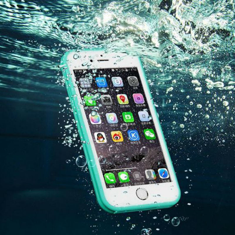FLOVEME Durable Waterproof Shockproof Swim Case Cover Outdoor Case For Apple iPhone 6 6S / Plus / 5S SE Water Proof Diving Bags(China (Mainland))