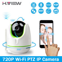 H. view wifi wireless 720 p ip camera wifi ip bidirezionale  Baby monitor audio pan tilt security facile scansione del codice qr  Collegare(China (Mainland))