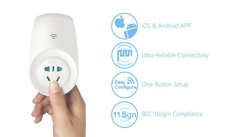 image for Home Automation Kit,Broadlink TC2 Remote Control Light Switch+A1 E-Air