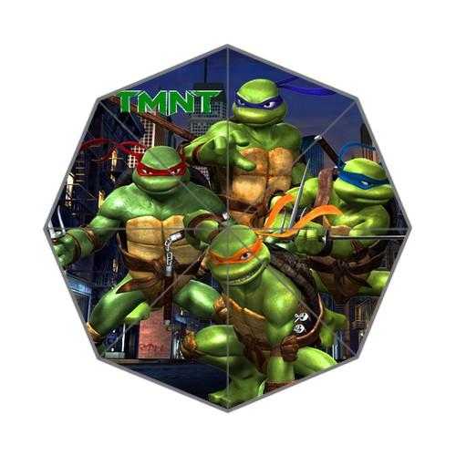 New Arrival free shipping Teenage Mutant Ninja Turtles Foldable Anti Rain Durable Umbrella(China (Mainland))