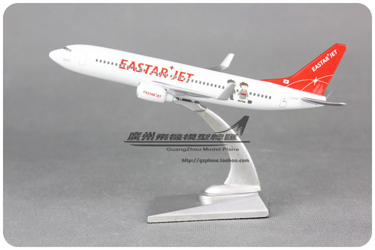 16cm Airplane Model Korea EASTAR JET Boeing B737 Airlines Airways Resin Plane Model Diecasts Souvenir Toy Vehicles Children Gift(China (Mainland))