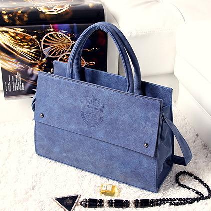 New arrival fashion Britpop star style Vintage dull polish design women leather handbag /shoulder bag WLHB868(China (Mainland))