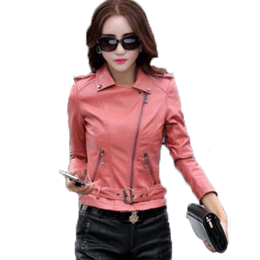 free shipping 2015 new arrival womens leather jacket slim outerwear female fur clothing Plus Size M-4XL 4 colors 218Одежда и ак�е��уары<br><br><br>Aliexpress