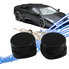 1 Pair 500W High Efficiency Car Auto Audio Dome Tweeter High Pitch Loudspeaker HF Components Super Power Loud Speaker