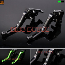 Hot Sale For KAWASAKI Z750 2007-2011 Motorcycle Accessories Short Brake Clutch Levers Logo Z750 Black