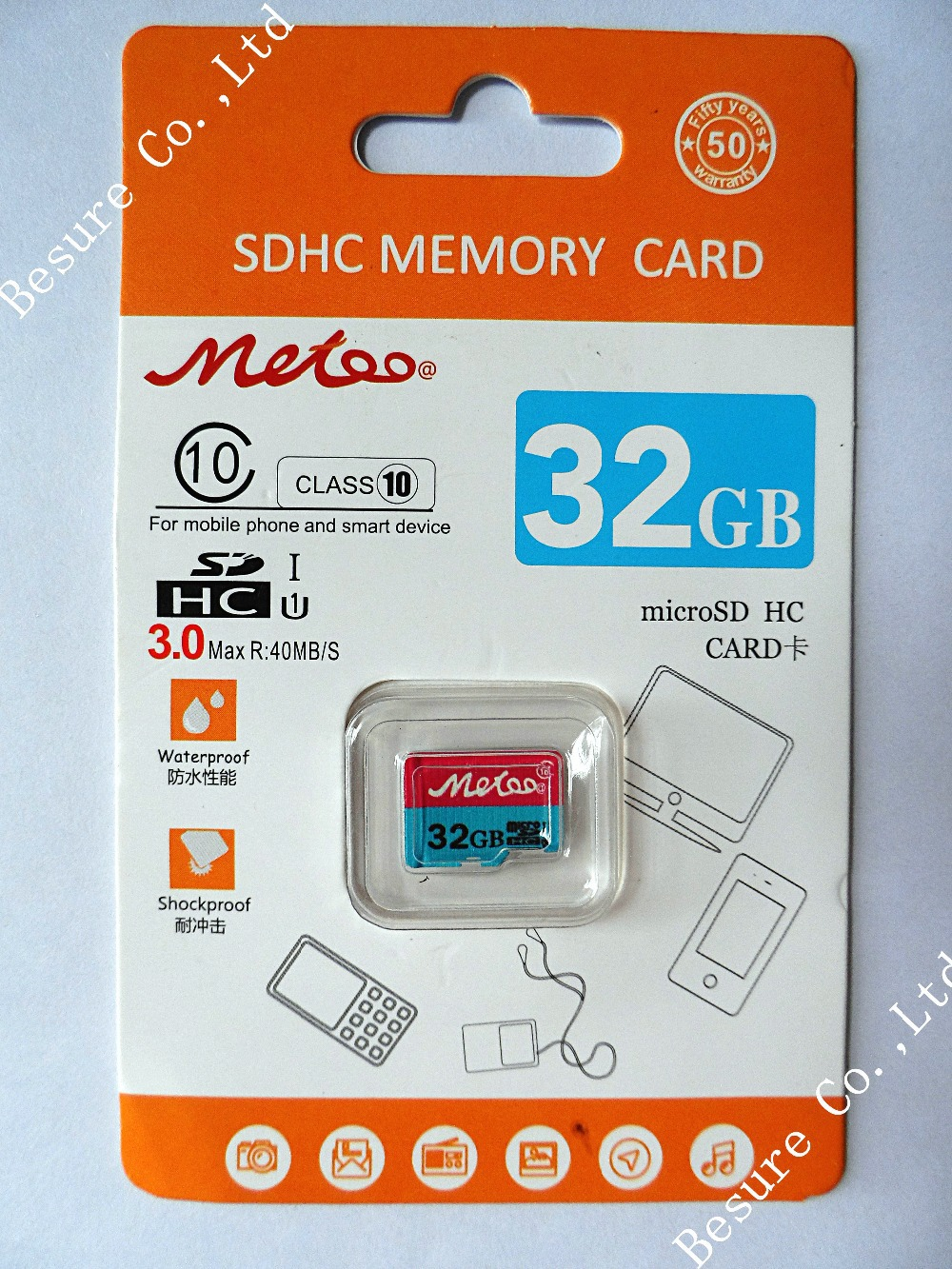 Metoo@ High speed Real capacity memory 4G 8GB class 4 16GB 32GB 64GB class 10 micro sd hc card Pass h2testw for Phone Tablet(China (Mainland))