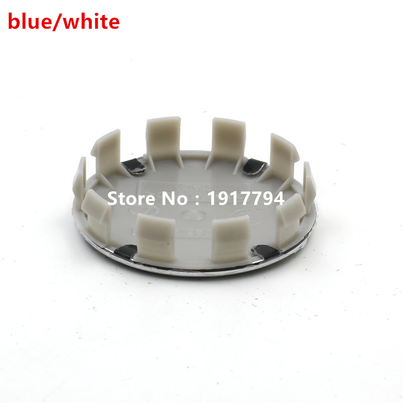 20pcs 68mm Blue White 10 pin Auto Car Wheel Center Hub caps Rim Caps Logo Emblem Badge for 1 3 6 5 7 8 Z3 Z4 M3 M5 & X1 X3 X5(China (Mainland))