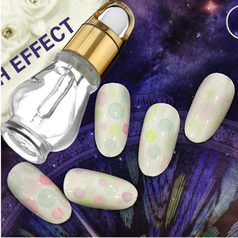 New Magic Nail Art Too ls Bubble Water Small Bottle Liquid Bubbles Gum Nails UV Gel Glue Dedicated DIY Tool(China (Mainland))