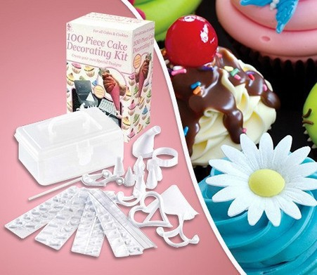 Buy 100 piece cake decorating kit from for 100 piece cake decoration kit