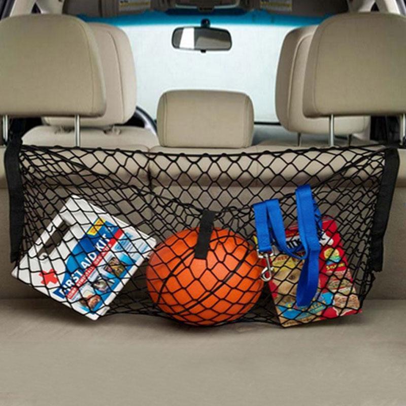 New Black Nylon Car Hatchback Luggage Trunk Net Plus Mounting Hign Quality(China (Mainland))