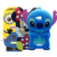 Buy Cute Cartoon Despicable Silicone Case Sony Xperia E4g E4 G Dual E2033 E2003 Minions Case for $3.47 in AliExpress store