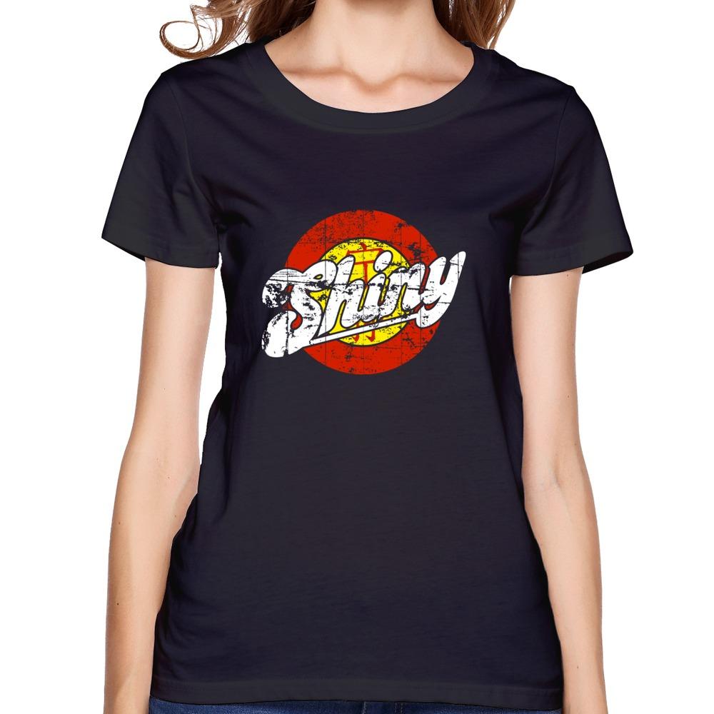 2015 100 Cotton Shiny Women 39 S T Shirt Crazy Ladies T
