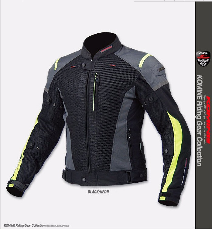 2015 new drop KOMINE JK - 069 motorcycle clothing Cross-country motorcycle racing jacket Knight riding Couples jacket