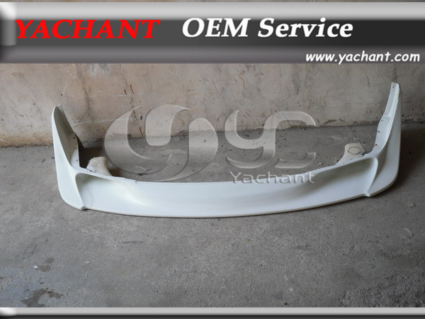 Carbon Fiber TBO Style Front Bumper Lip Fit For 1989-1994 Nissan Skyline R32 GTR(China (Mainland))
