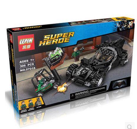 2016 LEPIN 07018 marvel Superhero Superman bat Shaanxi war building blocks set marvel minifigures compatible with legoe(China (Mainland))