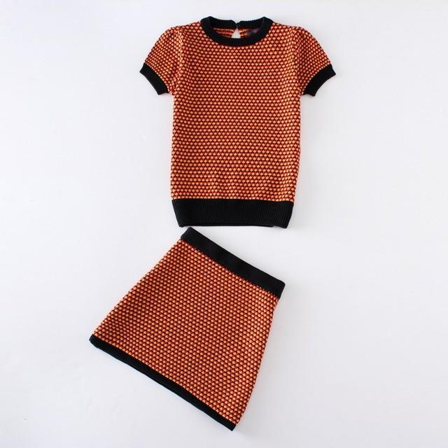 2015 новый известный бренд весна шеи с коротким рукавом мини геометрия розовый желтый ...