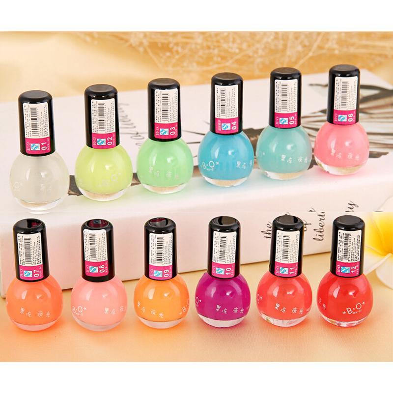 noctilucous 12 милая конфета цвета люминесцентные