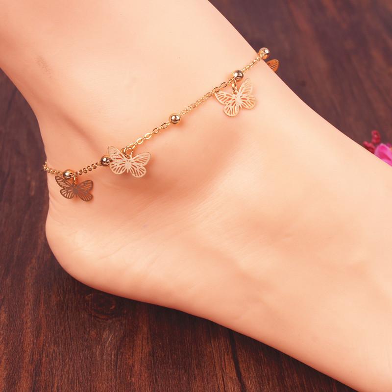 Браслет на ногу Chaine