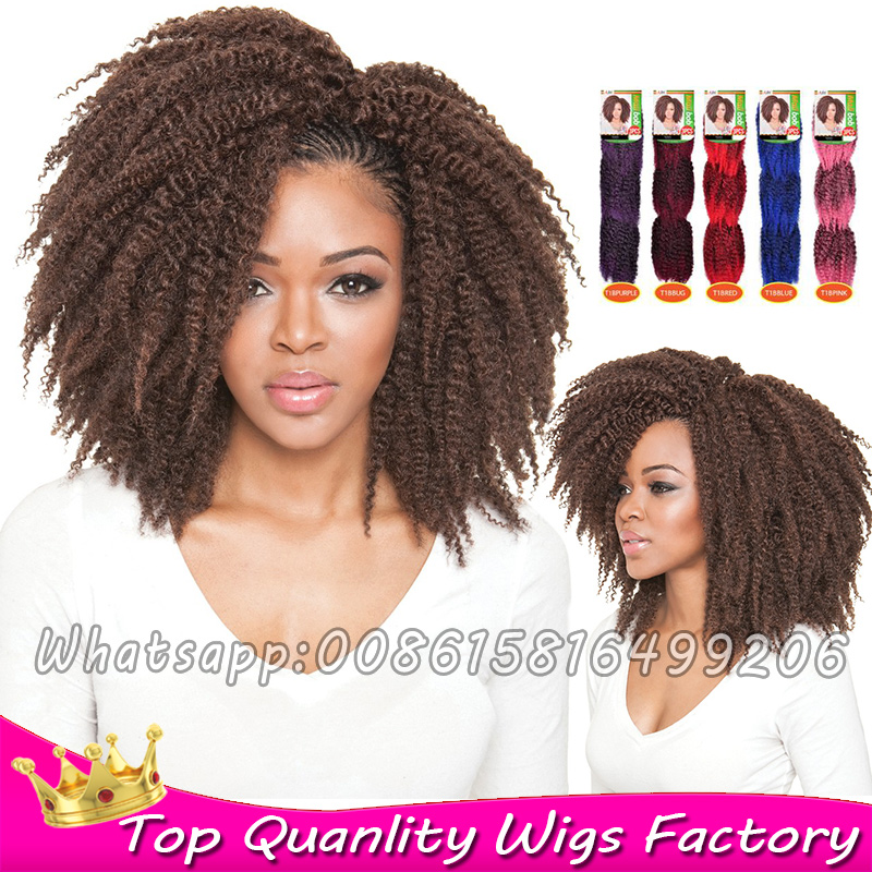 Crochet Hair That Looks Real : pack Crochet braids Ombre Synthetic dreadlock extensions Natural look ...