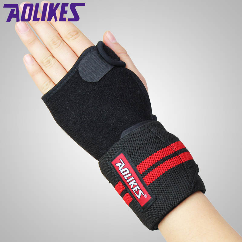 AOLIKES Elastic Wrist Glove Palm Hand Arthritis Brace Sleeve Supports for Adjustable Wrist Support Protecting Grip Pads A-1674(China (Mainland))