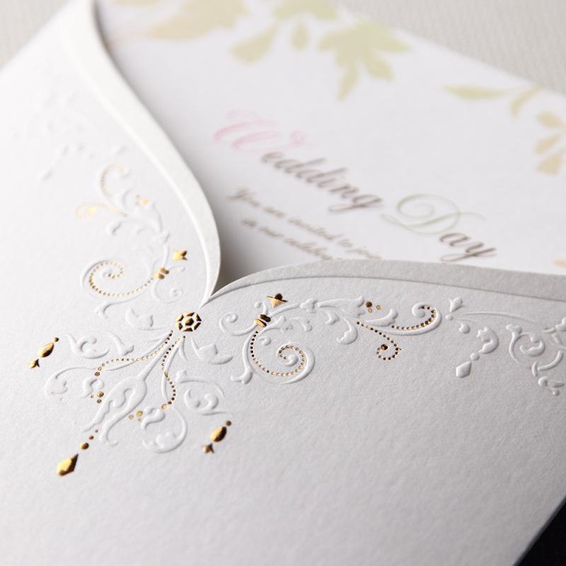 10Pcs Free Shipping Wedding Cards Invitation 2015 Paper Invitation Envelope Wedding Invitation Card(China (Mainland))