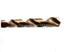 10PCS SET 4 0mm diameter CNC grinded HSS M35 Co5 twist drill bits SS Drilling straight