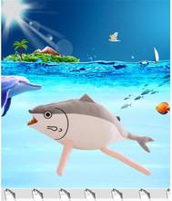 Fish pillow doll Plush toys animation surrounding the game Ragdoll kids toys