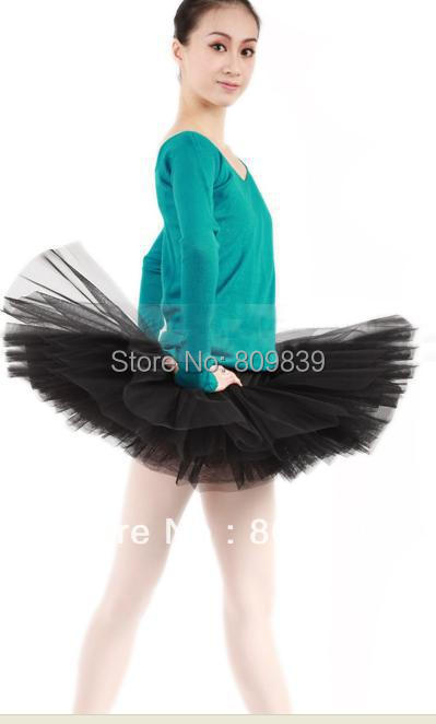 new Adult Professional Ballet Hard Organdy Platter ballet tutu party skirt dance black SZ M/L - Beautiful dancers supplies shop store