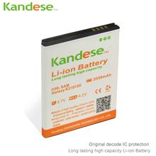 2 шт. pcs/lots Kandese 2050 мАч реальные возможности аккумулятор для Samsung Galaxy S2 SII I9100 9100 аккумулятор