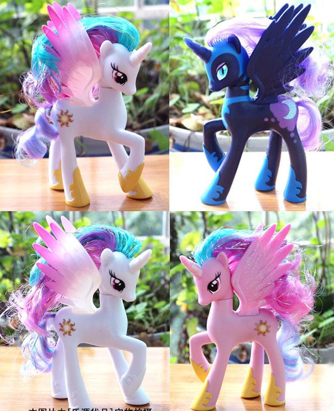 HOT new High quality original Princess Celestia Luna Action Figure toys for girl(China (Mainland))
