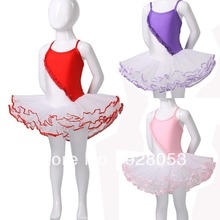 Ballet practicing and performing lots of color  skirt  red rain dance supplies 02X0459