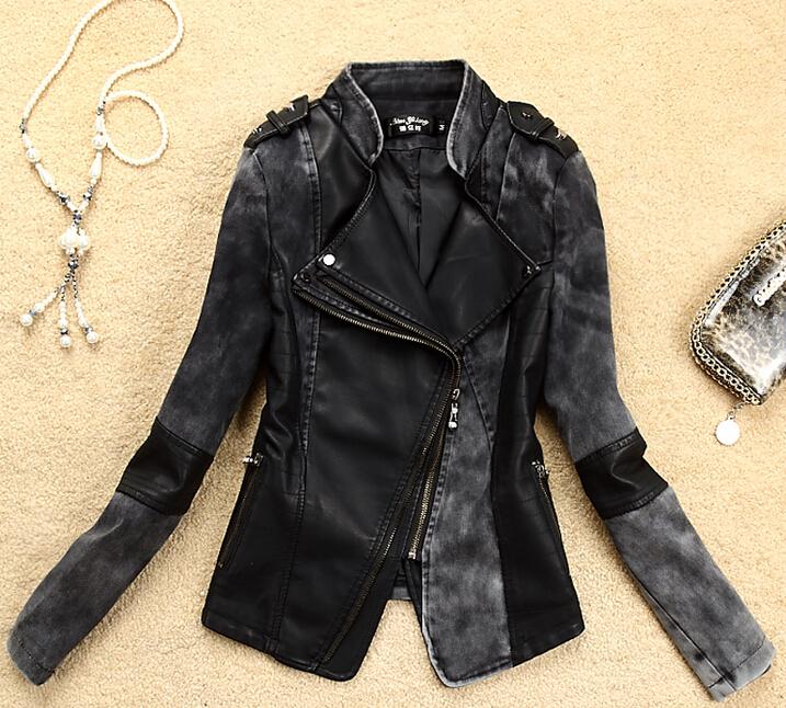 Оригинальные женские кожаные куртки