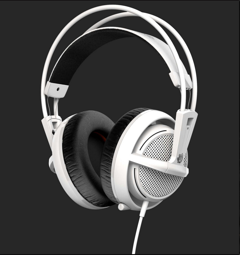 Steelseries Siberia 200 Gaming Headset, for moible music, Gaming headphone for Csgo, for lol, Free & Free shipping(China (Mainland))