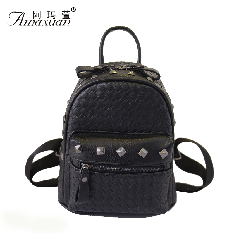 2015 summer new braided leather lady  backpacks,making with fine texture PU leather and many kinds of colors are avaliable.BB240<br><br>Aliexpress